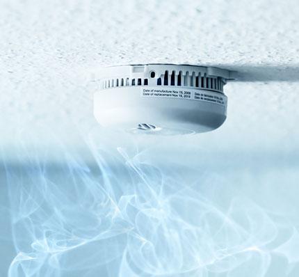 Installation détecteur de fumée